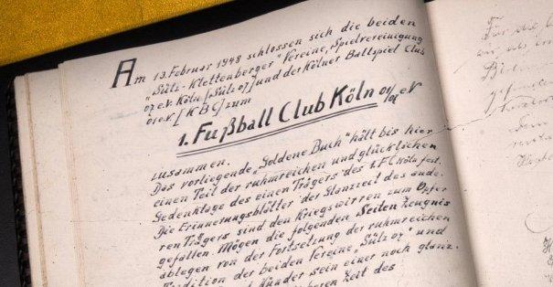 13 Şubat 1948'de kurulan Köln kulübü 72 yaşında!